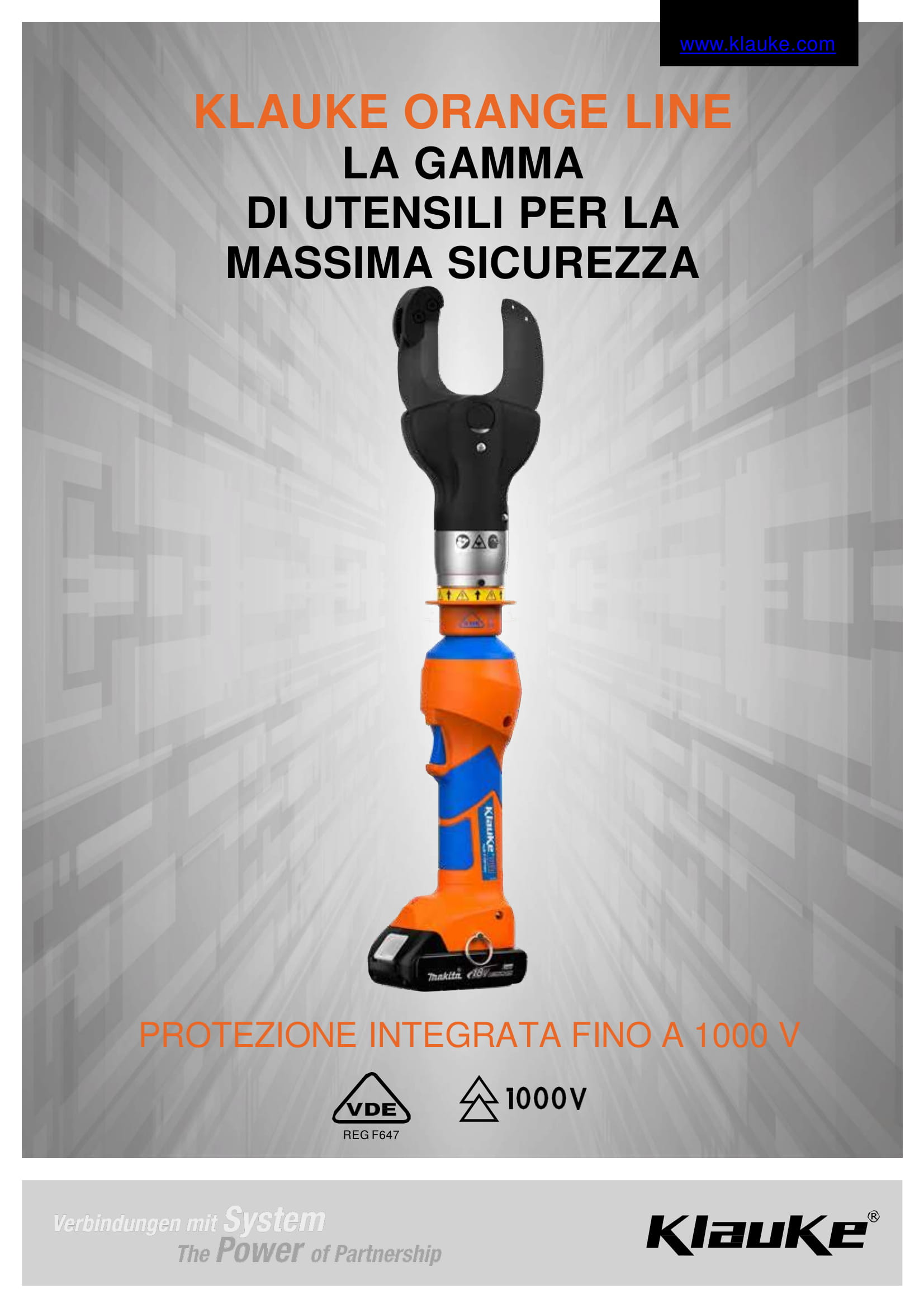Catalogo Orange Line Klauke in italiano