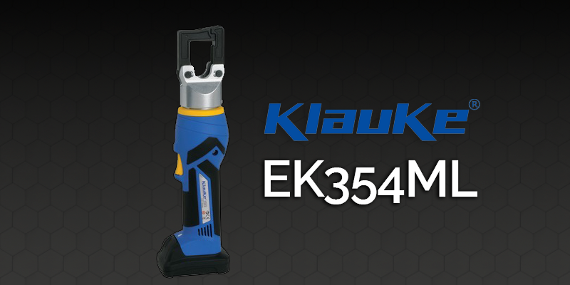 crimpatrice a batteria EK354ML Klauke