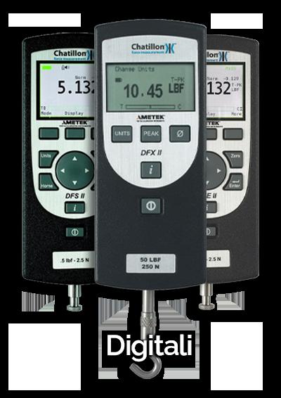 dinamometri digitali ametek-chatillon