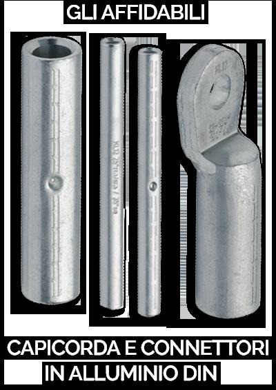 capicorda e connettori in alluminio din klauke