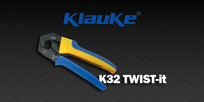 Crimpatrice meccanica K32 TWIST-it Klauke